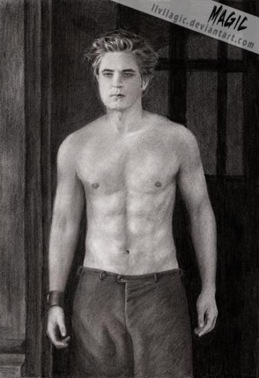 Robert Pattinson by magic